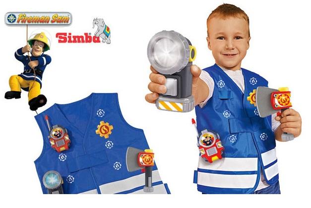 Купить Пожарный жилет из серии «Пожарный Сэм», с аксессуарами, Simba