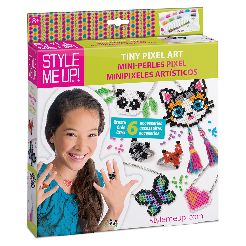 Набор Style Me Up - Пиксельные украшенияЮная модница, салон красоты<br>Набор Style Me Up - Пиксельные украшения<br>