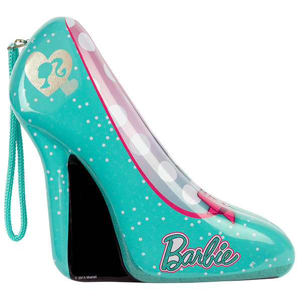 Набор детской декоративной косметики из серии Barbie, в зеленой туфелькеЮная модница, салон красоты<br>Набор детской декоративной косметики из серии Barbie, в зеленой туфельке<br>