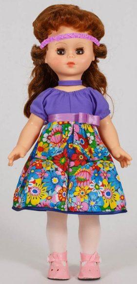 Кукла Оля Фея Сиреневых Облаков, 43 смРусские куклы фабрики Весна<br>Кукла Оля Фея Сиреневых Облаков, 43 см<br>