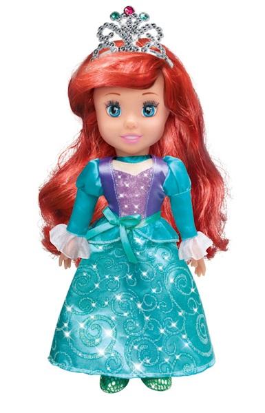 Кукла Принцесса Ариэль Дисней, 30 см., озвученная, с мягким теломАриэль<br>Кукла Принцесса Ариэль Дисней, 30 см., озвученная, с мягким телом<br>