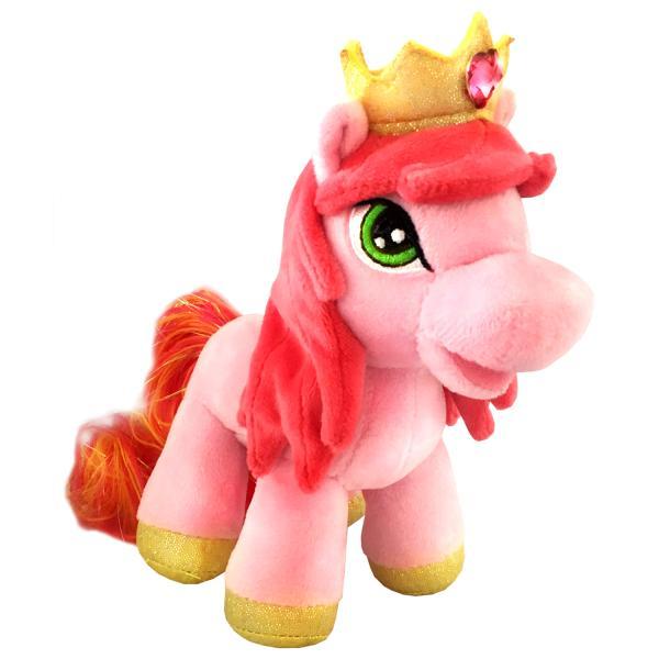 Озвученная мягкая игрушка - Пони Милашка, 17 смЛошадки Филли Filly Princess<br>Озвученная мягкая игрушка - Пони Милашка, 17 см<br>