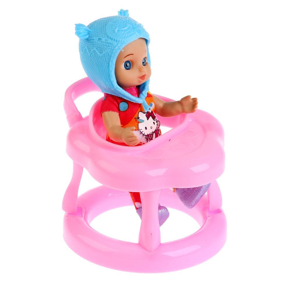 Купить Кукла Hello Kitty - Моя подружка Машенька, 12 см, с ходунками и аксессуарами, Карапуз