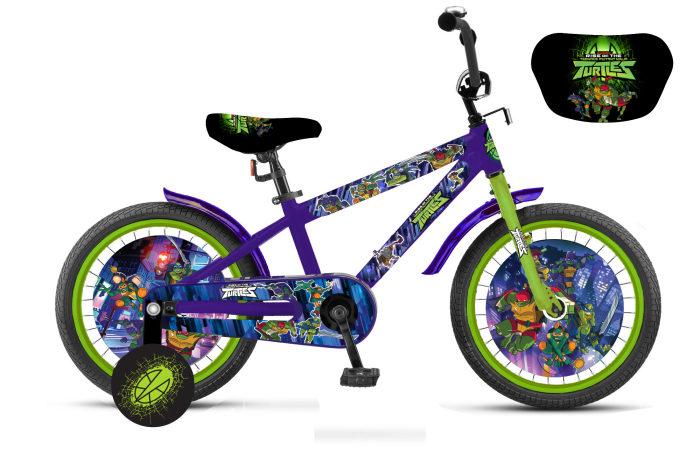 Купить Детский велосипед из серии Черепашки-ниндзя, колеса 12 , Navigator