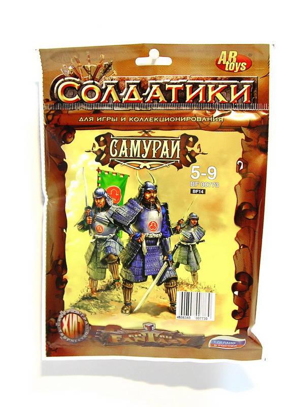 Купить Набор солдатиков Битвы фэнтези - Самураи, Технолог