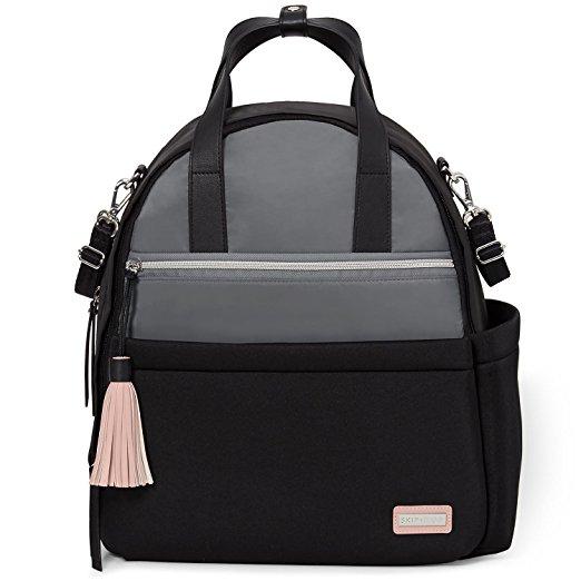 Рюкзак для мамы на коляску с аксессуарами, серо-черныйСумки для мам<br>Рюкзак для мамы на коляску с аксессуарами, серо-черный<br>