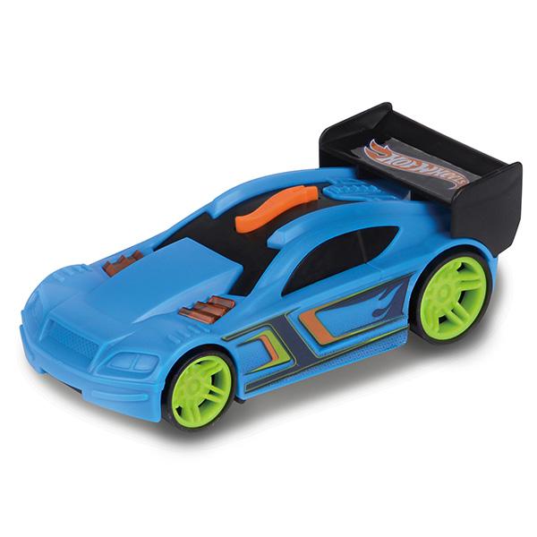 Машинка Hot Wheels со светом и звуком, голубая, 13 смHot Wheels<br>Машинка Hot Wheels со светом и звуком, голубая, 13 см<br>