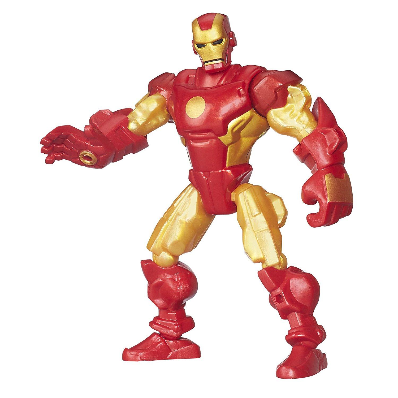 Разборная фигурка Super Hero Mashers – Железный человек, 15 смЖелезный человек 3 игрушки<br>Разборная фигурка Super Hero Mashers – Железный человек, 15 см<br>