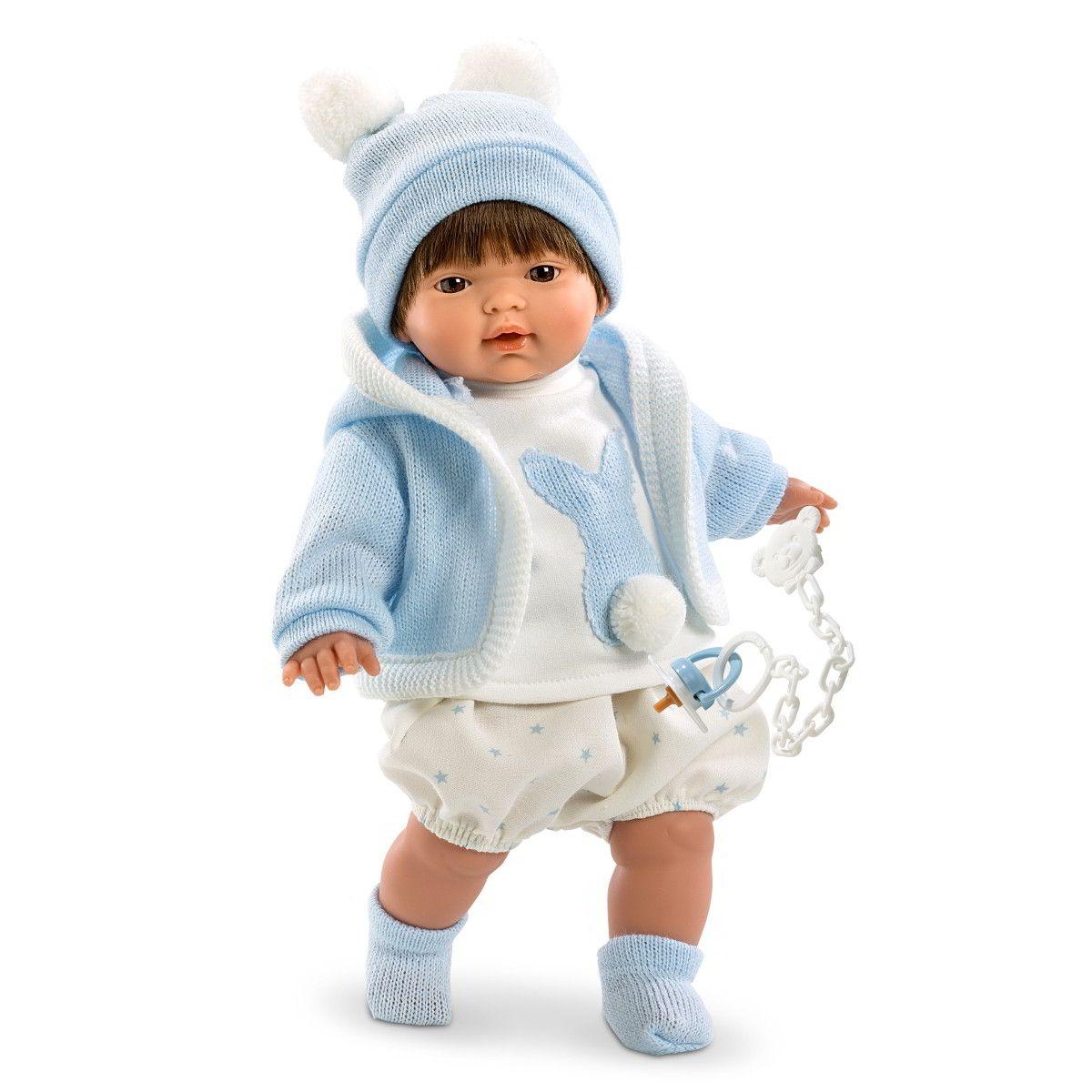 Кукла Карлос, 33 смИспанские куклы Llorens Juan, S.L.<br>Кукла Карлос, 33 см<br>