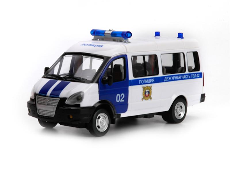 Купить Инерционная машина – Полиция, со световыми и звуковыми эффектами, Play Smart