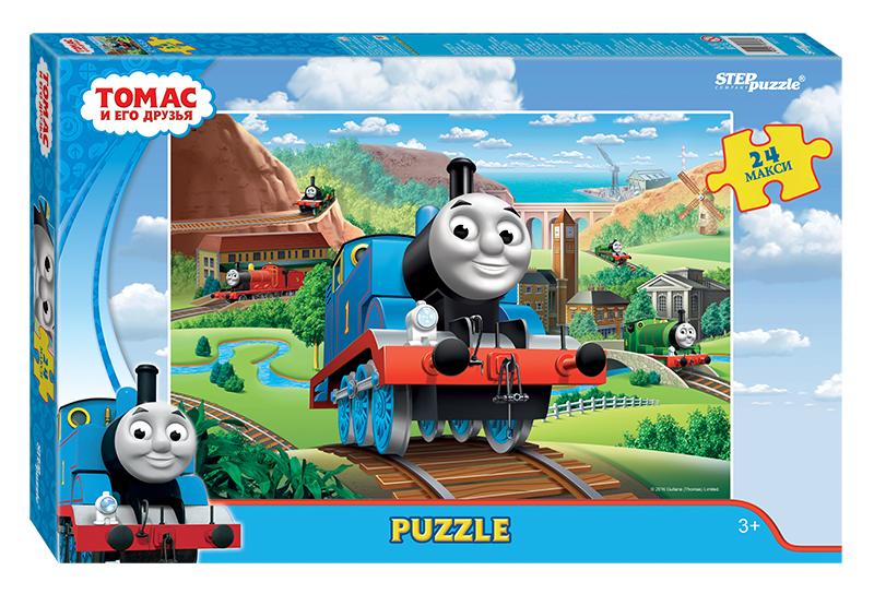 Купить Пазл Макси – Томас и его друзья, 24 детали, Step Puzzle