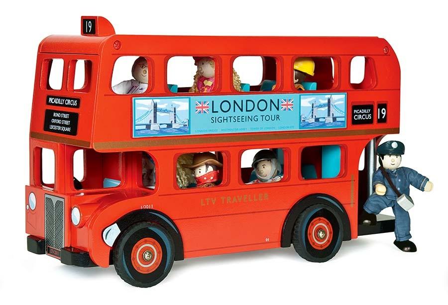 Автобус двухэтажный игрушка купить