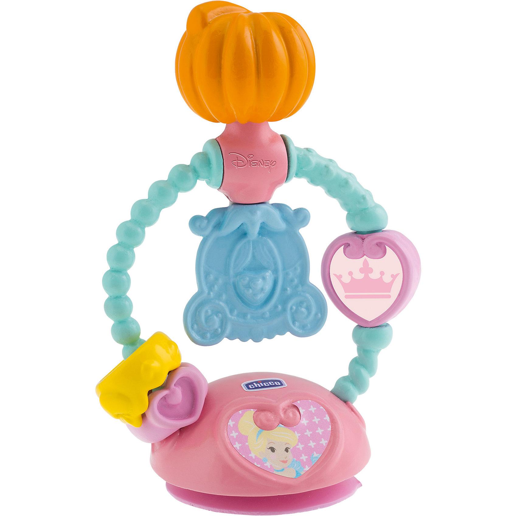 Игрушка для стульчика - ЗолушкаРазвивающие Игрушки Chicco<br>Игрушка для стульчика - Золушка<br>