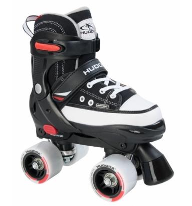 Купить Раздвижные ролики-квады Hudora - Roller Skate, черный, 32-35