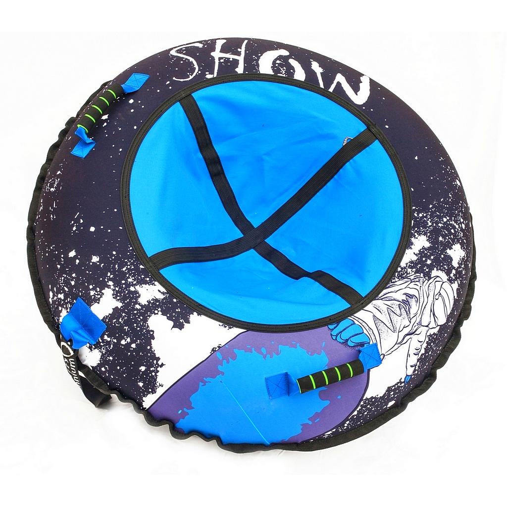 Санки надувные тюбинг дизайн - Сноубордист, диаметр 105 см.Ватрушки и ледянки<br>Санки надувные тюбинг дизайн - Сноубордист, диаметр 105 см.<br>