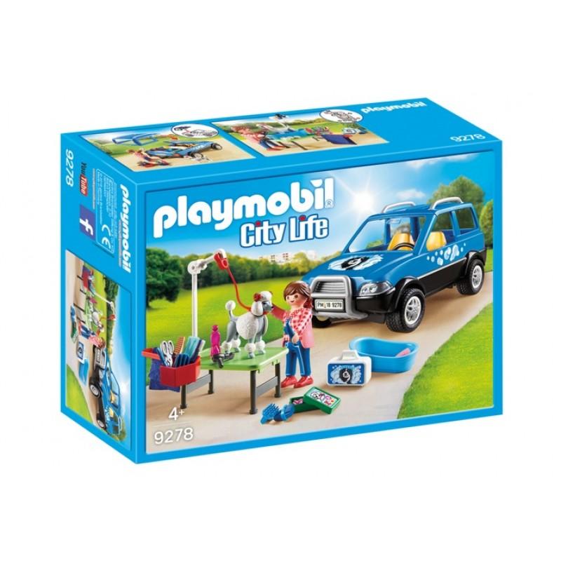 Купить Конструктор Playmobil. Отель для животных: Мобильный грумер для животных