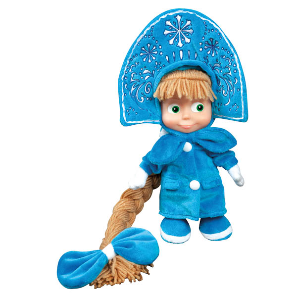 Мягкая игрушка Маша-Снегурочка, 30 см.Говорящие игрушки<br>Мягкая игрушка Маша-Снегурочка, 30 см.<br>