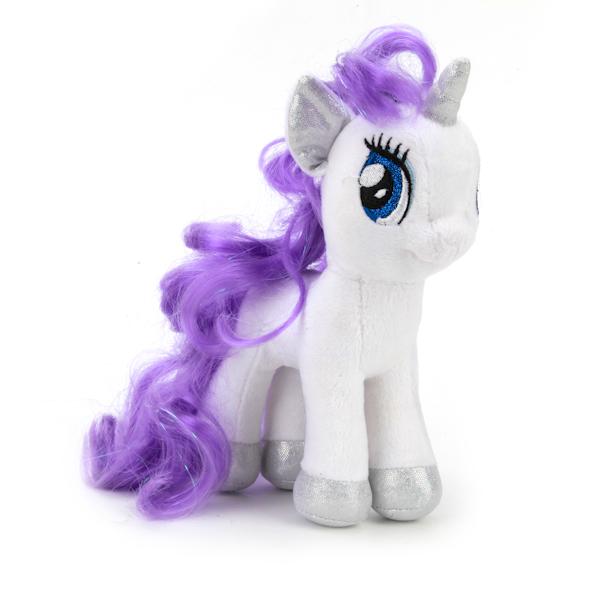 Купить Мягкая игрушка пони Рарити из мультфильма My Little Pony , 18 см., озвученная с русским чипом, Мульти-Пульти