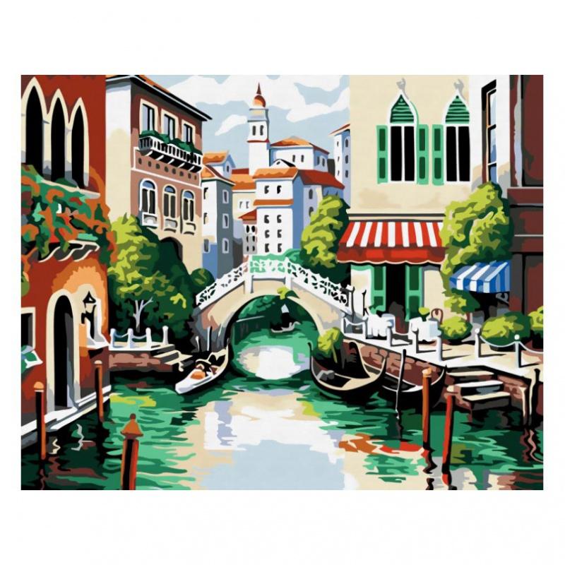 Раскраски по номерам - Картина «Венеция», 40 х 50 см.Раскраски по номерам Schipper<br>Раскраски по номерам - Картина «Венеция», 40 х 50 см.<br>