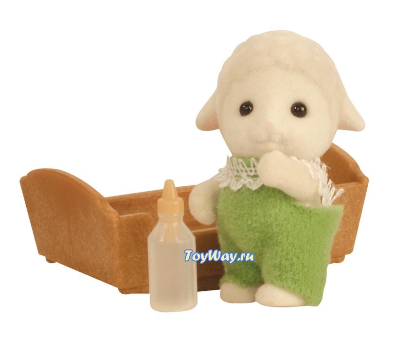 Sylvanian Families - Малыш Овечка  - купить со скидкой