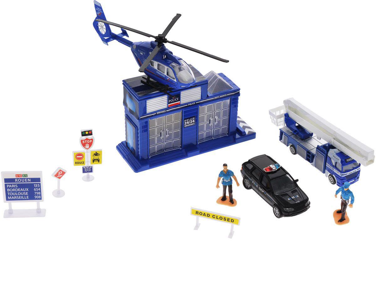 Игровой набор  Полицейский участок - Самолеты, службы спасения, артикул: 161815