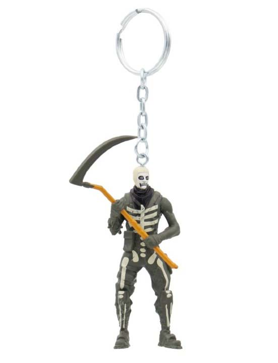 Купить Фигурка-брелок Fortnite, 7 см - Скелет, P.M.I. Trading Ltd