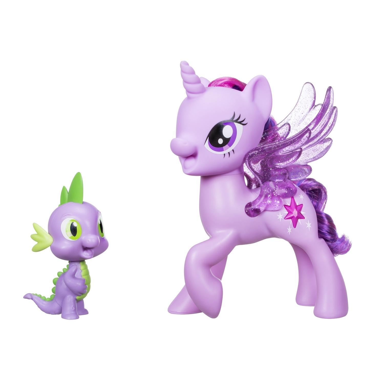 Набор фигурок с поющей Твайлайт Спаркл и Спайк из серии My Little PonyМоя маленькая пони (My Little Pony)<br>Набор фигурок с поющей Твайлайт Спаркл и Спайк из серии My Little Pony<br>