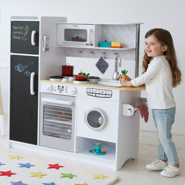Кухня – Перчинка, белаяДетские игровые кухни<br>Кухня – Перчинка, белая<br>
