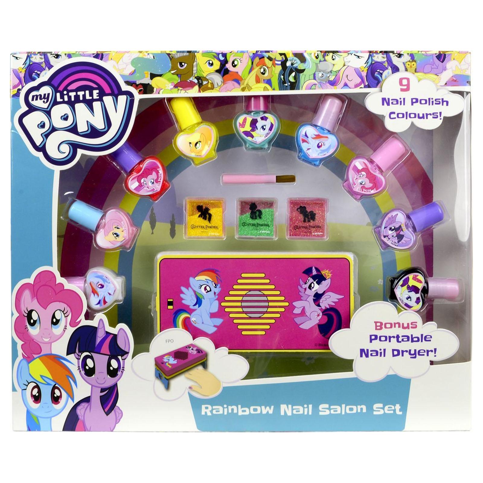 Игровой набор детской декоративной косметики для ногтей из серии My Little PonyДетская косметика Markwins<br>Игровой набор детской декоративной косметики для ногтей из серии My Little Pony<br>