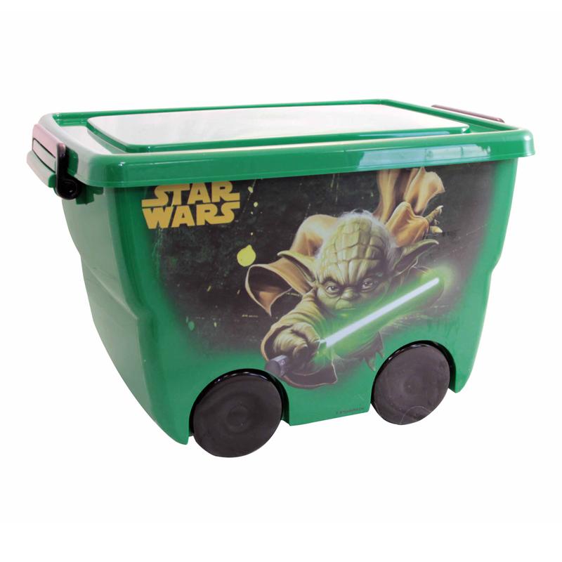 Ящик для игрушек из серии Звездные Войны, 24 литраКорзины для игрушек<br>Ящик для игрушек из серии Звездные Войны, 24 литра<br>