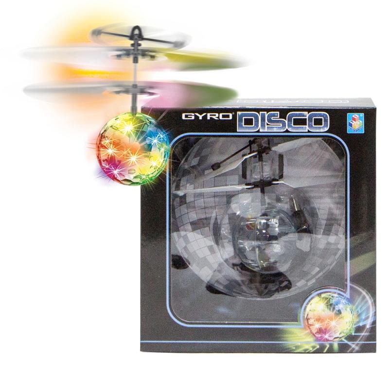 Купить Летающий шар на сенсорном управлении Gyro-Disco, свет, диаметр 4, 5 см, 1TOY