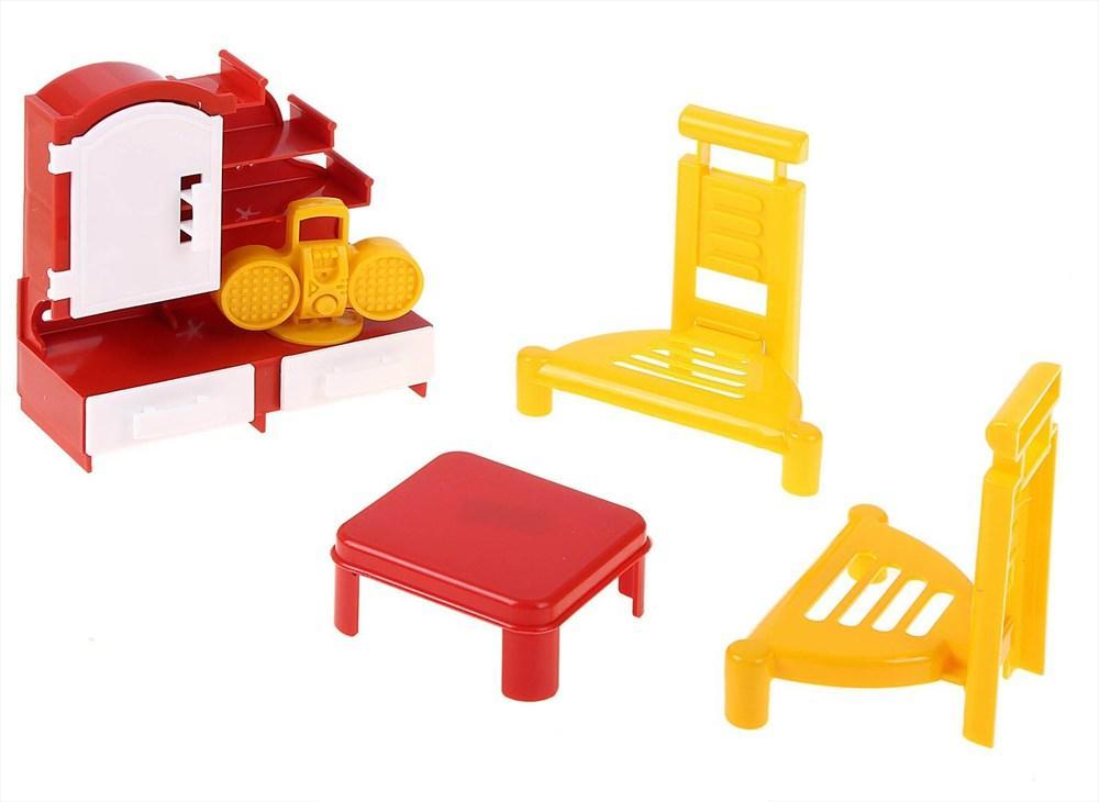 Игровой набор мебели - ГостинаяКукольные домики<br>Игровой набор мебели - Гостиная<br>