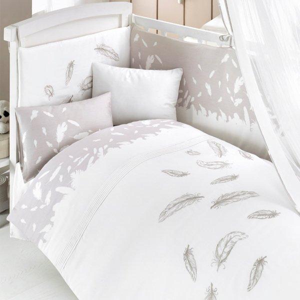 Комплект постельного белья и спальных принадлежностей из 6 предметов серии FluffyДетское постельное белье<br>Комплект постельного белья и спальных принадлежностей из 6 предметов серии Fluffy<br>