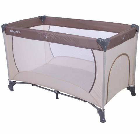 Купить Манеж-кровать – Arena, кофейный/бежевый, Baby Care