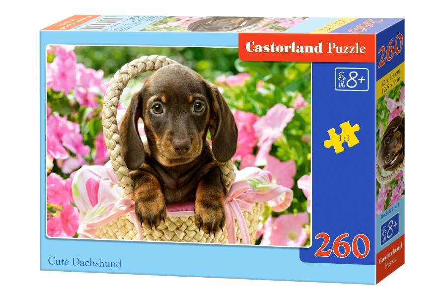 Купить Пазл Такса, 260 элементов, Castorland