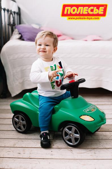 Каталка-автомобиль Полиция со звуковым сигналомМашинки-каталки для детей<br>Каталка-автомобиль Полиция со звуковым сигналом<br>