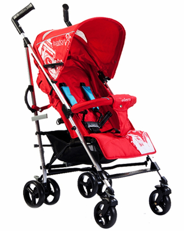 Коляска трость London, RedДетские коляски Capella Jetem, Baby Care<br>Коляска трость London, Red<br>