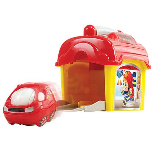 Игровой набор - Пожарная станция с машинкойМашинки для малышей<br>Игровой набор - Пожарная станция с машинкой<br>