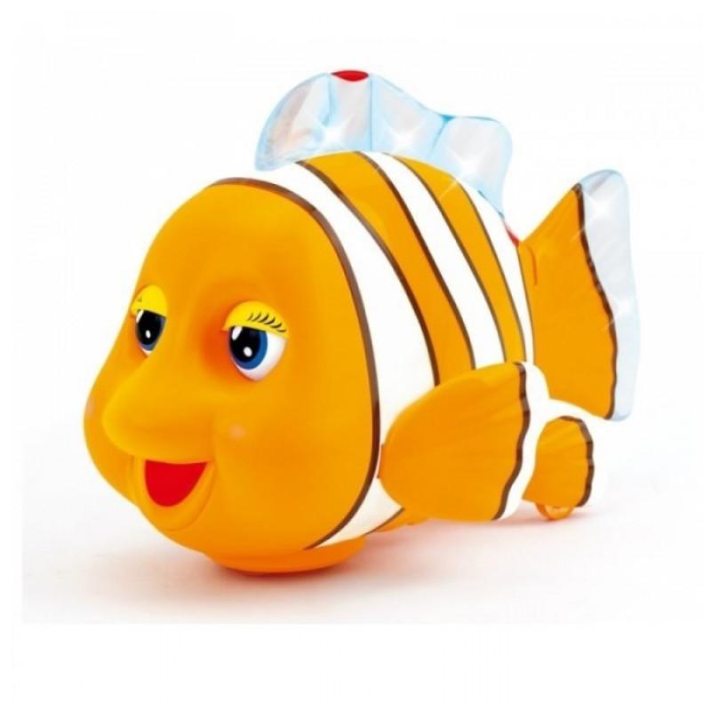 Игрушка детская - Рыбка со звуковыми и световыми эффектамиИнтерактив для малышей<br>Игрушка детская - Рыбка со звуковыми и световыми эффектами<br>