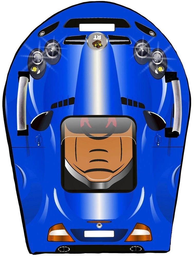 Ледянка Snow auto SLR MClaren, цвет синий - Зимние товары, артикул: 148481