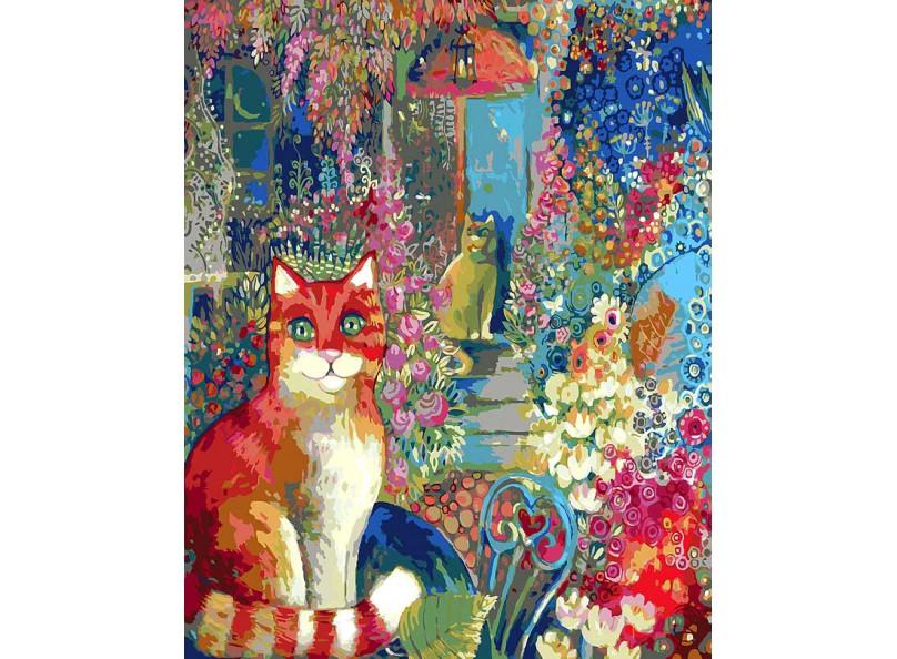 Раскраски по номерам - Картина «В городском саду»Раскраски по номерам Schipper<br>Раскраски по номерам - Картина «В городском саду»<br>