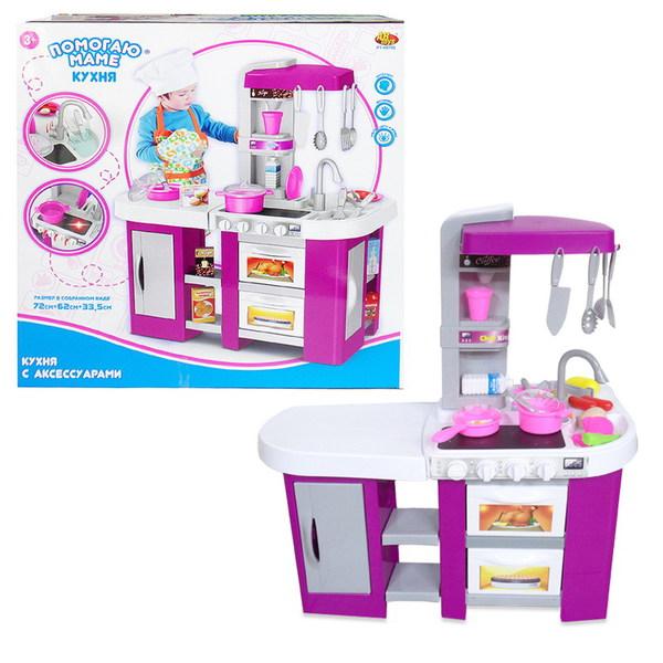 Купить Кухня из серии Помогаю маме со световыми и звуковыми эффектами, 49 предметов, ABtoys