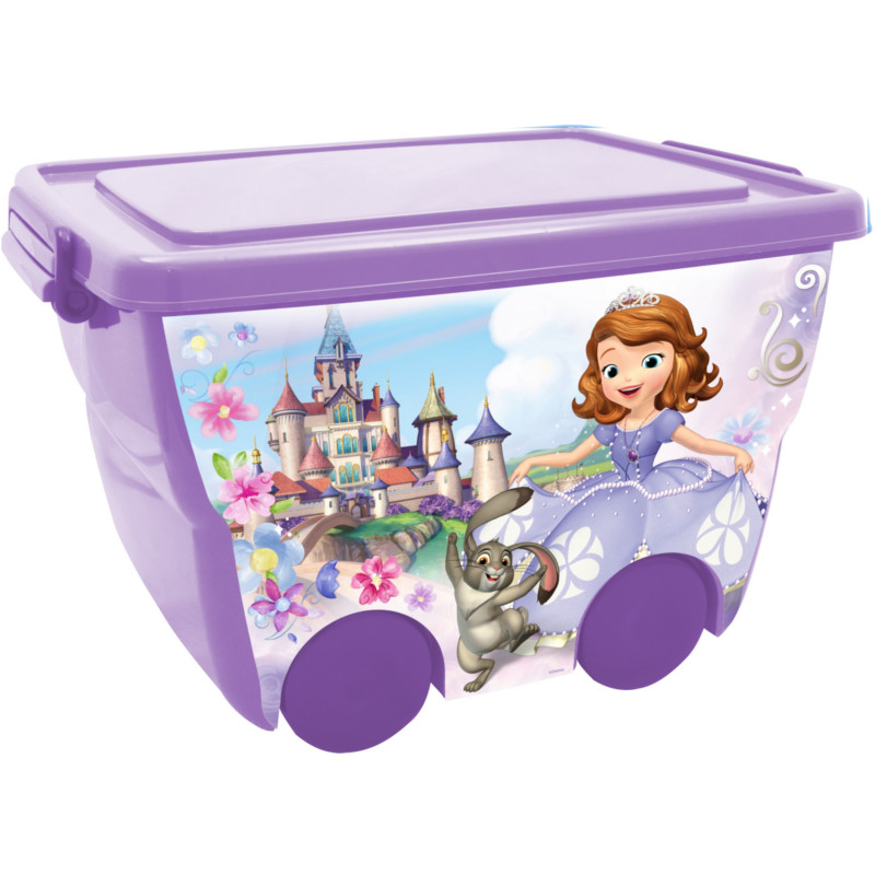 Ящик для игрушек из серии Disney – София Прекрасная, 24 литра