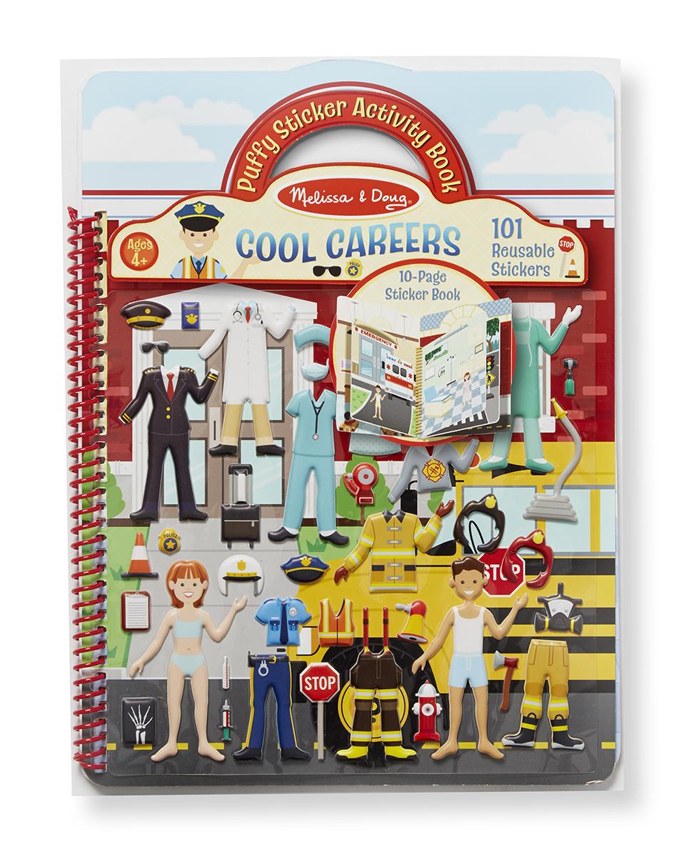 Купить Набор стикеров «Классная карьера», 101 шт., Melissa&Doug