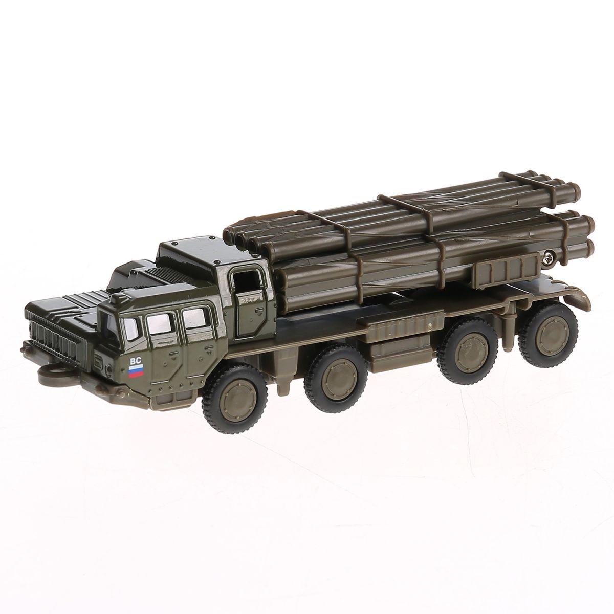 Купить Инерционная металлическая модель - РСЗО Смерч, 15 см, Технопарк
