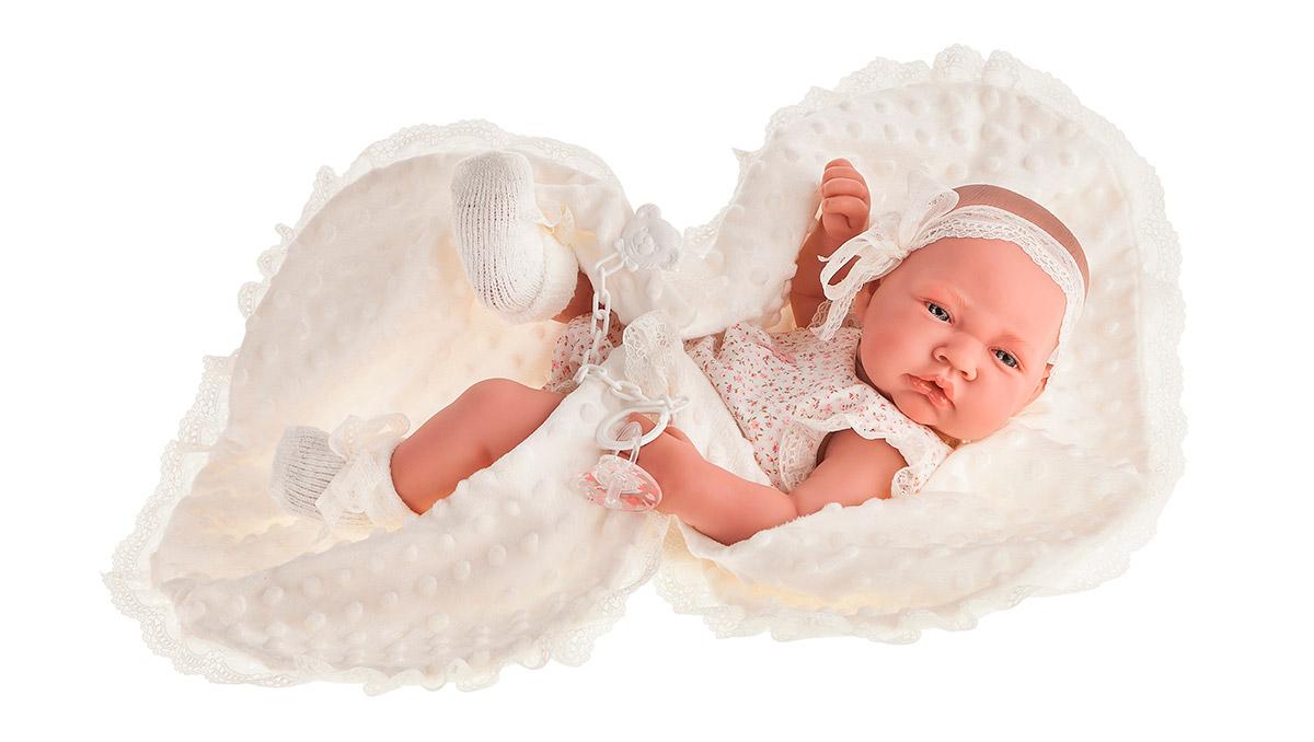 Купить Кукла-младенец Сесилия в белом, 42 см, Antonio Juan Munecas