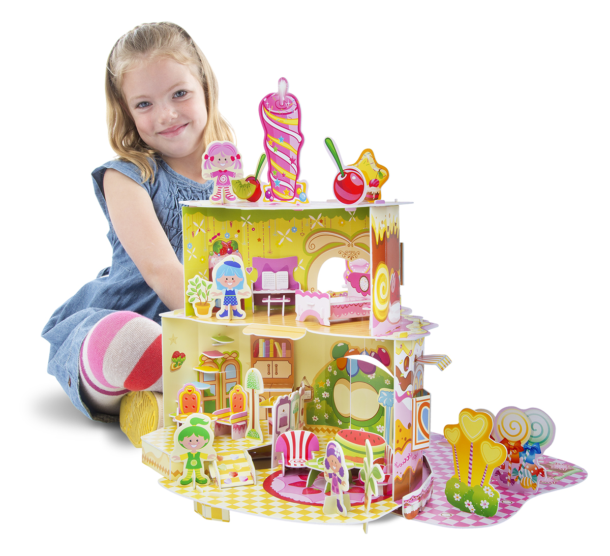Дом, милый дом, 3D-пазлКукольные домики<br>Дом, милый дом, 3D-пазл<br>