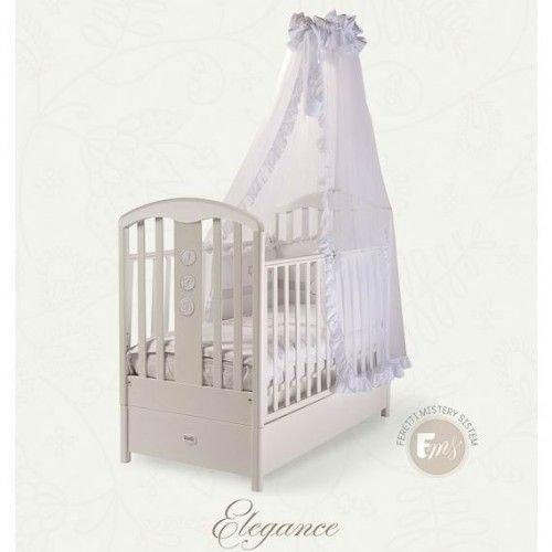 Кровать детская Fms Elegance BiancoДетские кровати и мягкая мебель<br>Кровать детская Fms Elegance Bianco<br>