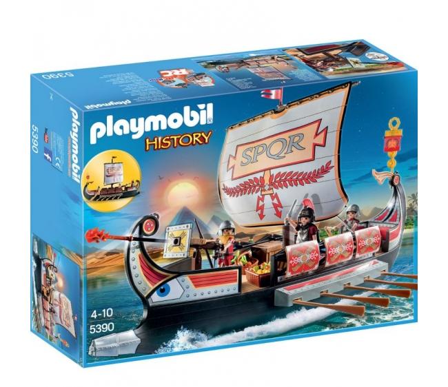 Купить Игровой набор из серии Римляне и Египтяне: Корабль Римских воинов, Playmobil