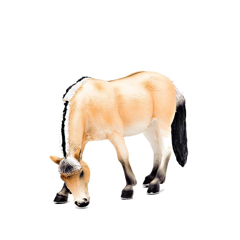Фигурка - Кобыла фиордской породы, размер 11,5 х 4 х 8 см.Лошади (Horse)<br>Фигурка - Кобыла фиордской породы, размер 11,5 х 4 х 8 см.<br>